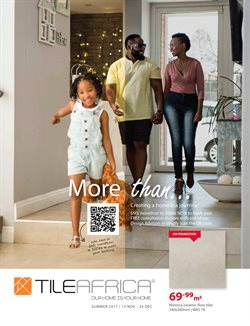 Tiles offers in the Tile Africa catalogue in Port Elizabeth