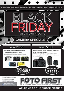 Foto First deals in the Randburg special