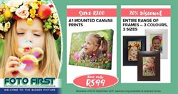 Foto First deals in the Johannesburg special