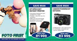 Printer offers in the Foto First catalogue in Cape Town