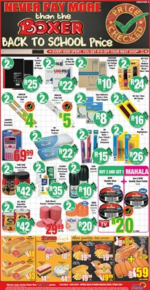 Boxer Punch deals in the Umlazi special