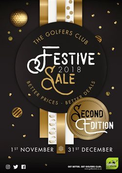 Golf offers in the The Golfers Club catalogue in Cape Town