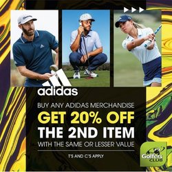 The Golfers Club offers in the The Golfers Club catalogue ( Expires tomorrow)