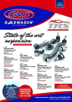 Goldwagen catalogue ( 21 days left )