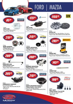 Cars, Motorcycles & Spares offers in the Goldwagen catalogue ( More than a month )