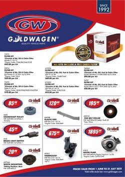 Goldwagen offers in the Goldwagen catalogue ( More than a month)