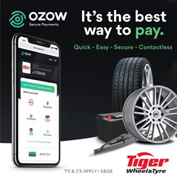 Tiger Wheel & Tyre catalogue in Soweto ( 4 days left )
