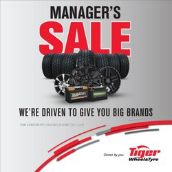 Cars, Motorcycles & Spares offers in the Tiger Wheel & Tyre catalogue ( More than a month)
