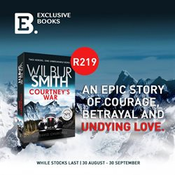 Books & stationery offers in the Exclusive Books catalogue in Randburg