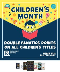 Books & stationery offers in the Exclusive Books catalogue in East London