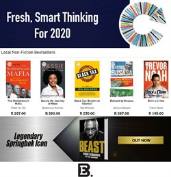 Books & Stationery offers in the Exclusive Books catalogue in Cape Town
