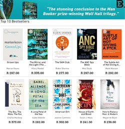 Books & Stationery offers in the Exclusive Books catalogue in Cape Town ( More than a month )