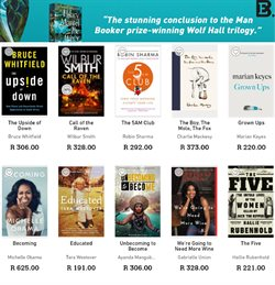 Books & Stationery offers in the Exclusive Books catalogue in Pretoria ( 18 days left )