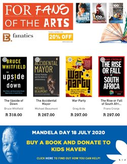Fan specials in Exclusive Books