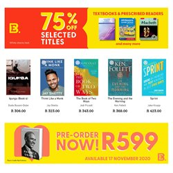 Exclusive Books catalogue ( Expired )