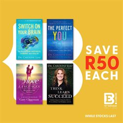 Books & Stationery offers in the Exclusive Books catalogue in Cape Town ( 3 days left )