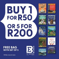 Books & Stationery offers in the Exclusive Books catalogue ( 14 days left )