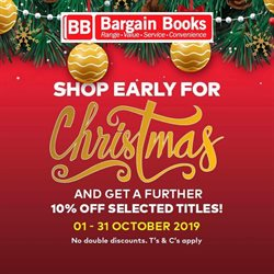 Bargain Books deals in the Cape Town special