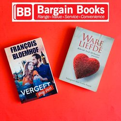Books & Stationery offers in the Bargain Books catalogue in Roodepoort ( 17 days left )