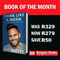Books & Stationery offers in the Bargain Books catalogue in Cape Town ( 11 days left )