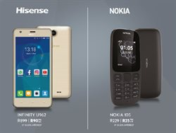 Phones offers in the American Swiss catalogue in Cape Town