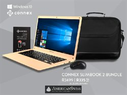 Computer offers in the American Swiss catalogue in East London