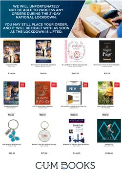 Books & Stationery offers in the CUM Books catalogue in Cape Town ( 25 days left )