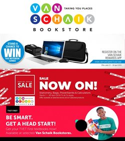 Laptop offers in the Van Schaik Bookstore catalogue in Cape Town