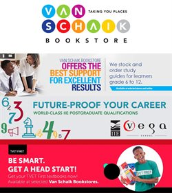 Books & Stationery offers in the Van Schaik catalogue in Roodepoort