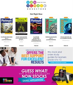 Books & Stationery offers in the Van Schaik catalogue in Paarl