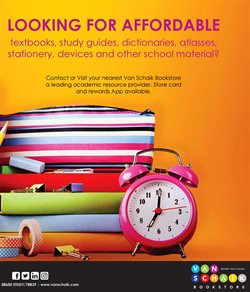 Books & Stationery offers in the Van Schaik catalogue in Johannesburg