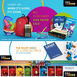 Books & Stationery offers in the Van Schaik catalogue ( 8 days left)