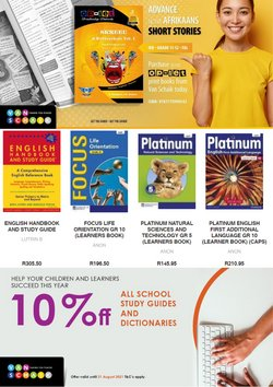 Books & Stationery offers in the Van Schaik catalogue ( More than a month)