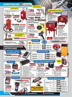 Batteries offers in the Adendorff Machinery Mart catalogue in Cape Town