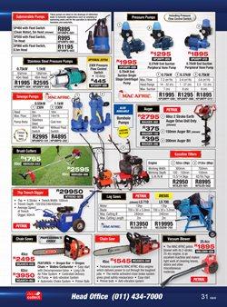 Switches specials in Adendorff Machinery Mart