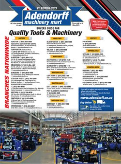 Electronics & Home Appliances offers in the Adendorff Machinery Mart catalogue ( More than a month)