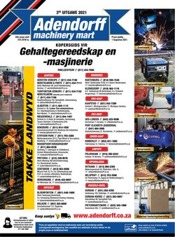 Adendorff Machinery Mart catalogue ( 5 days left)