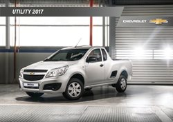 Chevrolet deals in the Johannesburg special