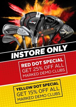 Golf offers in the The Pro Shop catalogue in Cape Town