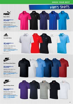 The Pro Shop deals in the Cape Town special