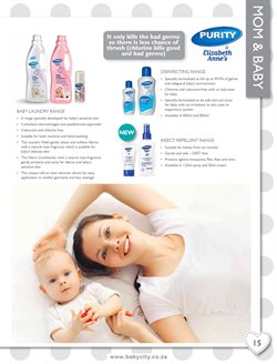 Fabric softener offers in the Baby City catalogue in Cape Town