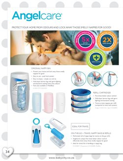 Diaper disposer offers in the Baby City catalogue in Cape Town