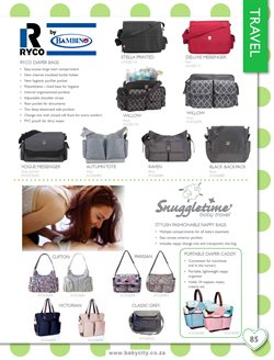Baby changing bag offers in the Baby City catalogue in Cape Town
