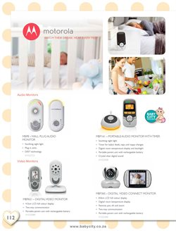 Baby monitor camera offers in the Baby City catalogue in Cape Town