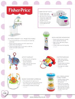 Potty offers in the Baby City catalogue in Cape Town