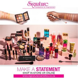 Beauty & Pharmacy offers in the Signature Cosmetics catalogue ( 13 days left )