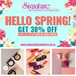 Beauty & Pharmacy offers in the Signature Cosmetics catalogue ( 2 days left)
