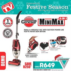 Verimark deals in the Cape Town special