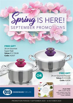 AMC Cookware catalogue ( 12 days left )