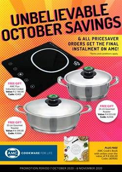 AMC Cookware catalogue in Cape Town ( 6 days left )